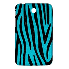 Skin4 Black Marble & Turquoise Colored Pencil (r) Samsung Galaxy Tab 3 (7 ) P3200 Hardshell Case  by trendistuff