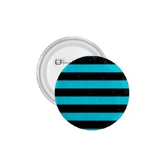 Stripes2 Black Marble & Turquoise Colored Pencil 1 75  Buttons by trendistuff