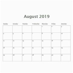 2018 Calender Mix By Lisa Minor   Wall Calendar 11  X 8 5  (12 Months)   47adffxh9oca   Www Artscow Com Aug 2018