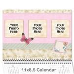 2018 Repose Calendar - Wall Calendar 11  x 8.5  (12-Months)
