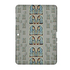 Rasta Men Is Every Where Pop Art Samsung Galaxy Tab 2 (10 1 ) P5100 Hardshell Case  by pepitasart