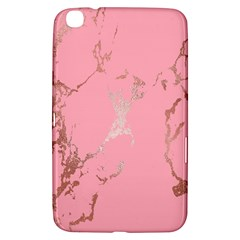 Luxurious Pink Marble Samsung Galaxy Tab 3 (8 ) T3100 Hardshell Case  by tarastyle