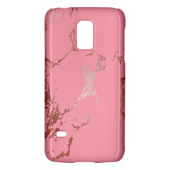 Luxurious Pink Marble Galaxy S5 Mini by tarastyle