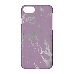 Luxurious Pink Marble Apple Iphone 8 Hardshell Case by tarastyle