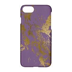 Luxurious Pink Marble Apple Iphone 8 Hardshell Case by tarastyle