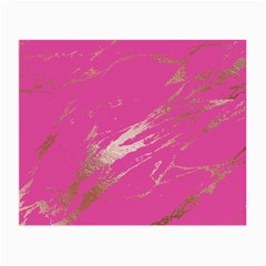 Luxurious Pink Marble Small Glasses Cloth (2 Side) by tarastyle