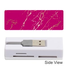 Luxurious Pink Marble Memory Card Reader (stick)  by tarastyle