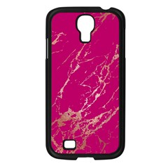 Luxurious Pink Marble Samsung Galaxy S4 I9500/ I9505 Case (black) by tarastyle