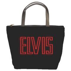 Elvis Presley Bucket Bags by Valentinaart