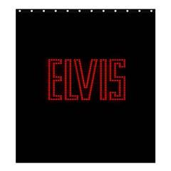 Elvis Presley Shower Curtain 66  X 72  (large)  by Valentinaart