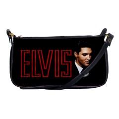 Elvis Presley Shoulder Clutch Bags by Valentinaart