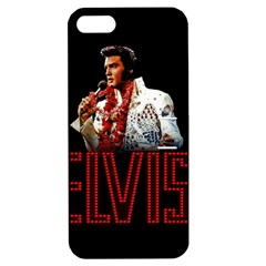 Elvis Presley Apple Iphone 5 Hardshell Case With Stand by Valentinaart