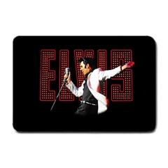 Elvis Presley Small Doormat  by Valentinaart