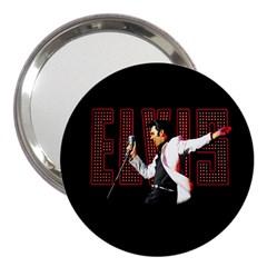 Elvis Presley 3  Handbag Mirrors by Valentinaart