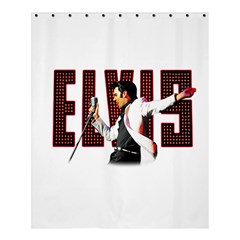 Elvis Presley Shower Curtain 60  X 72  (medium)  by Valentinaart