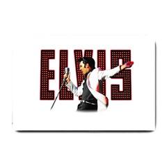 Elvis Presley Small Doormat  by Valentinaart