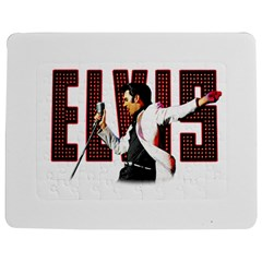 Elvis Presley Jigsaw Puzzle Photo Stand (rectangular) by Valentinaart