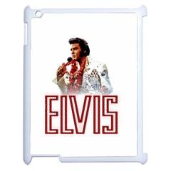 Elvis Presley Apple Ipad 2 Case (white) by Valentinaart
