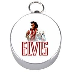 Elvis Presley Silver Compasses by Valentinaart
