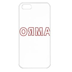 Normal Apple Iphone 5 Seamless Case (white) by Valentinaart