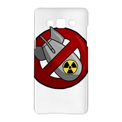 No Nuclear Weapons Samsung Galaxy A5 Hardshell Case