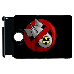 No Nuclear Weapons Apple Ipad 2 Flip 360 Case by Valentinaart