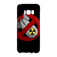 No Nuclear Weapons Samsung Galaxy S8 Hardshell Case  by Valentinaart