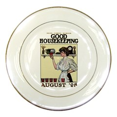 Good Housekeeping Porcelain Plates by Valentinaart