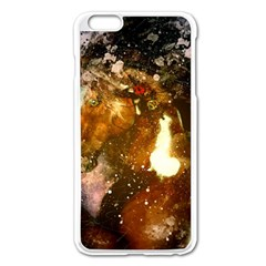 Wonderful Horse In Watercolors Apple Iphone 6 Plus/6s Plus Enamel White Case by FantasyWorld7