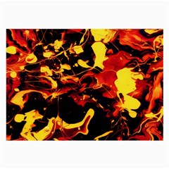 Abstract Acryl Art Large Glasses Cloth by tarastyle