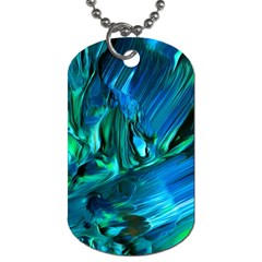 Abstract Acryl Art Dog Tag (two Sides) by tarastyle