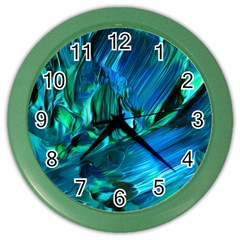 Abstract Acryl Art Color Wall Clocks by tarastyle