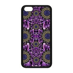 Flowers From Paradise In Fantasy Elegante Apple Iphone 5c Seamless Case (black) by pepitasart