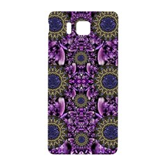 Flowers From Paradise In Fantasy Elegante Samsung Galaxy Alpha Hardshell Back Case by pepitasart