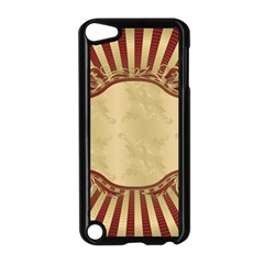 Art Deco Red Apple Ipod Touch 5 Case (black) by 8fugoso