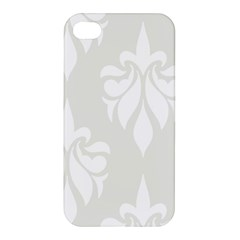 Fleur De Lis Apple Iphone 4/4s Premium Hardshell Case by 8fugoso