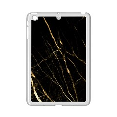 Black Marble Ipad Mini 2 Enamel Coated Cases by 8fugoso