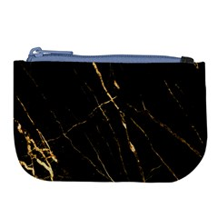 Black Marble Large Coin Purse by 8fugoso