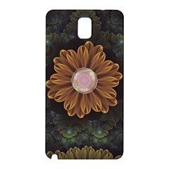 Abloom In Autumn Leaves With Faded Fractal Flowers Samsung Galaxy Note 3 N9005 Hardshell Back Case by beautifulfractals