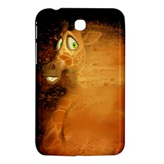 The Funny, Speed Giraffe Samsung Galaxy Tab 3 (7 ) P3200 Hardshell Case  by FantasyWorld7