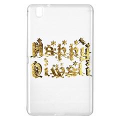 Happy Diwali Gold Golden Stars Star Festival Of Lights Deepavali Typography Samsung Galaxy Tab Pro 8 4 Hardshell Case by yoursparklingshop