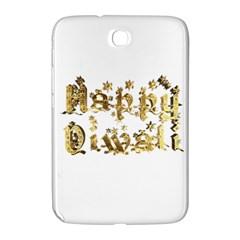 Happy Diwali Gold Golden Stars Star Festival Of Lights Deepavali Typography Samsung Galaxy Note 8 0 N5100 Hardshell Case  by yoursparklingshop