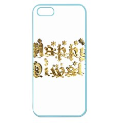 Happy Diwali Gold Golden Stars Star Festival Of Lights Deepavali Typography Apple Seamless Iphone 5 Case (color) by yoursparklingshop