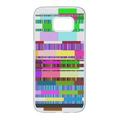 Error Samsung Galaxy S7 Edge White Seamless Case by MoreColorsinLife