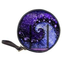 Beautiful Violet Spiral For Nocturne Of Scorpio Classic 20 Cd Wallets by beautifulfractals
