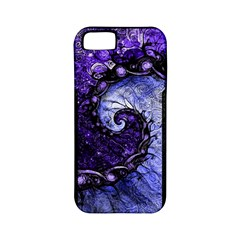 Beautiful Violet Spiral For Nocturne Of Scorpio Apple Iphone 5 Classic Hardshell Case (pc+silicone) by jayaprime