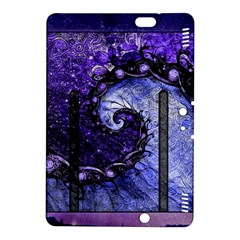 Beautiful Violet Spiral For Nocturne Of Scorpio Kindle Fire Hdx 8 9  Hardshell Case by beautifulfractals