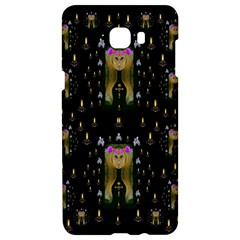 Queen In The Darkest Of Nights Samsung C9 Pro Hardshell Case  by pepitasart