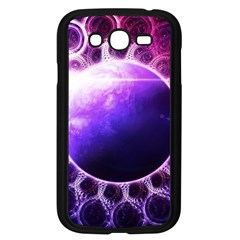 Beautiful Violet Nasa Deep Dream Fractal Mandala Samsung Galaxy Grand Duos I9082 Case (black) by jayaprime
