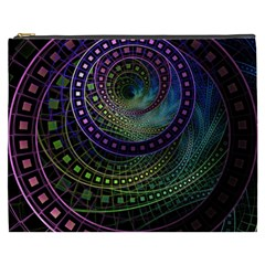 Oz The Great With Technicolor Fractal Rainbow Cosmetic Bag (xxxl)  by beautifulfractals